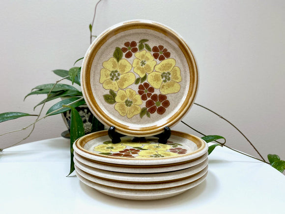 Mikasa (Japan) 'Lisbet' from the Stone Manor collection - side/small plates (x6)