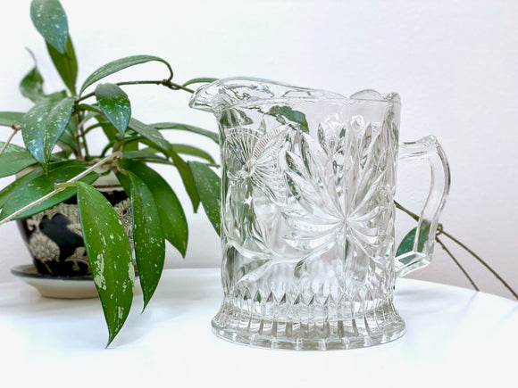 Crown Crystal Glass (Australia) '51 Series' aka Butterfly, water jug