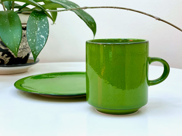 Villeroy & Boch (Luxembourg) 'Agadir' cup and side plate