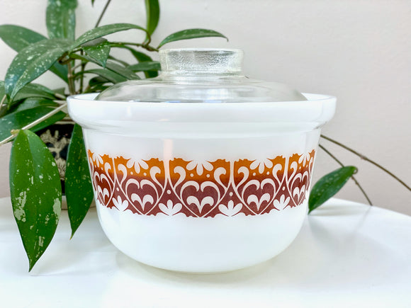 AGEE / CROWN PYREX 'Tribal' 2.25L Deep Casserole