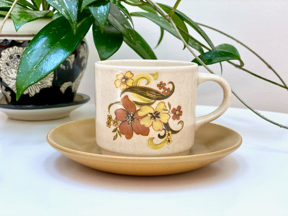Johnson of Australia 'Romance' teacup/saucer set