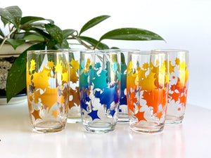 Crown Crystal Glass (Australia) tumblers (x6)
