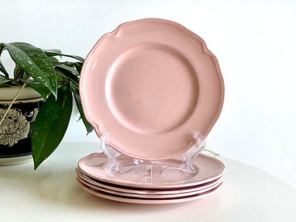 Sovereign Pottery / Johnson of Australia 'Gainsborough Pink' side plates (x5)