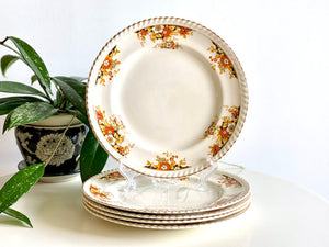 Johnson Bros (England) entree plates (x5), from the 'Old English' range