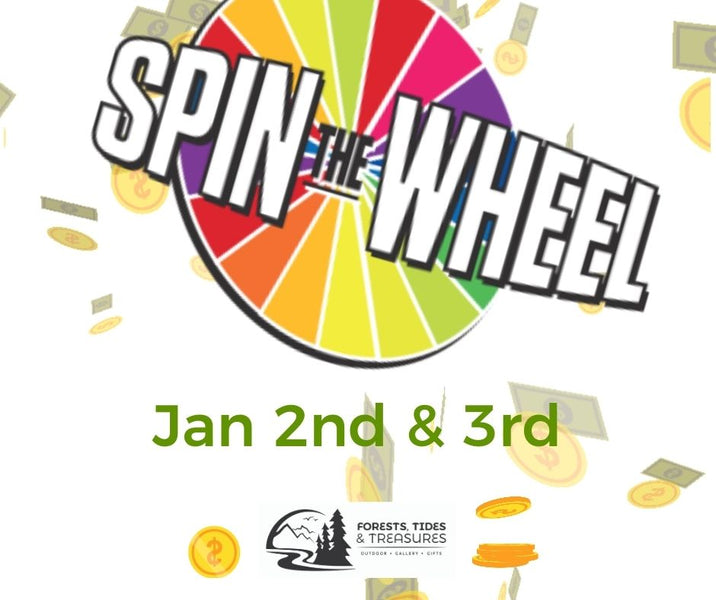 Spin to Win this New Year & more!!!