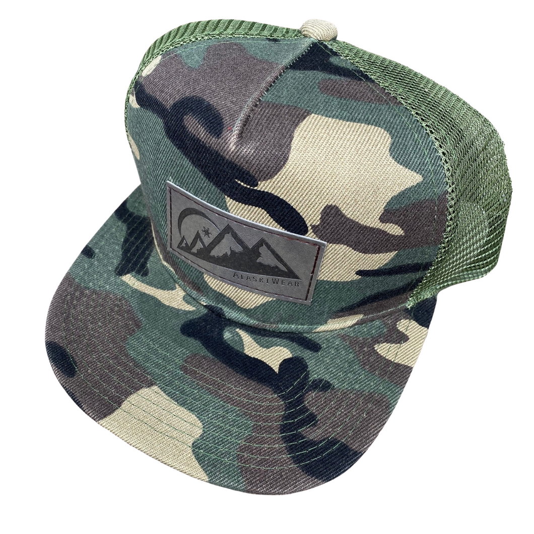 Adult Trucker Hat - Green Camo