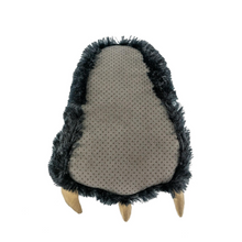 Load image into Gallery viewer, Black Bear Paw Slipper