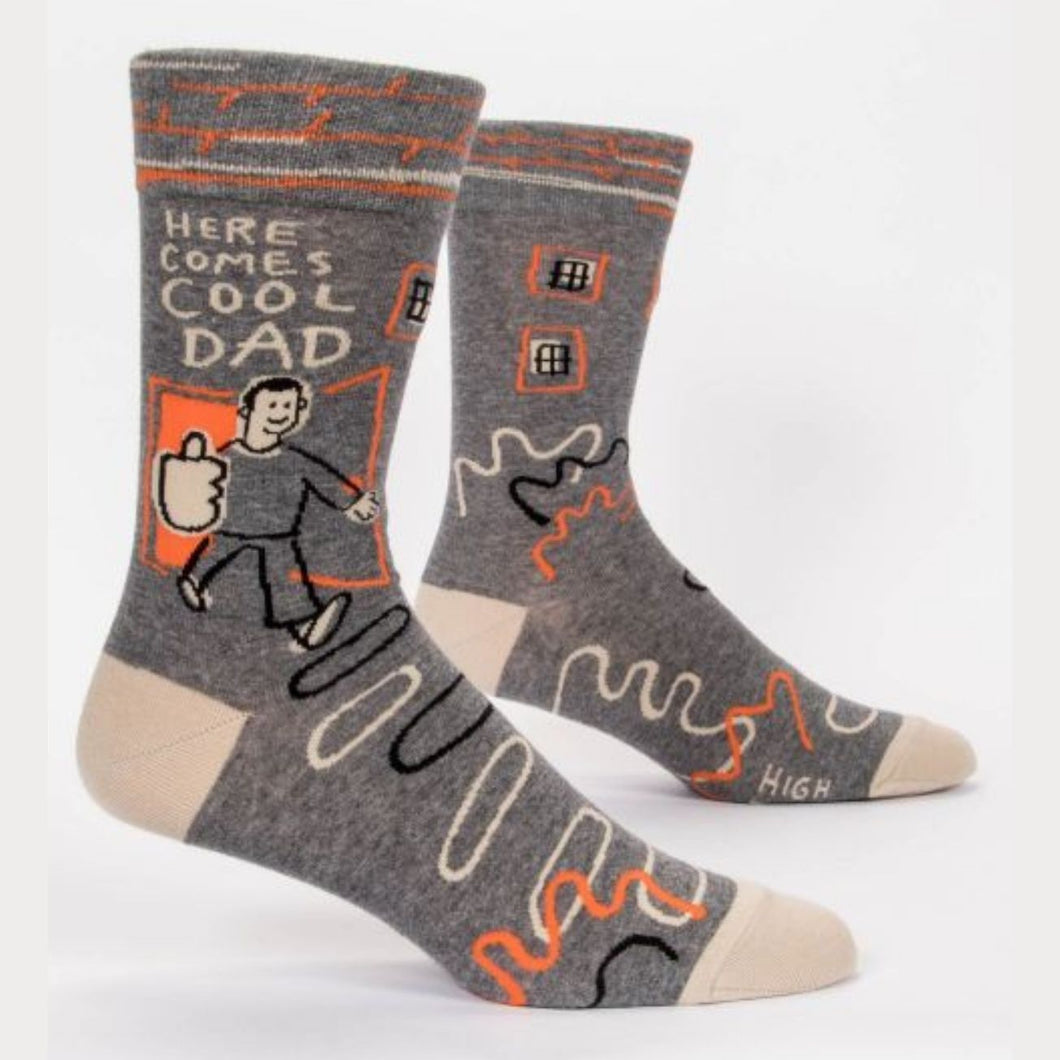 Men's Socks - Here Comes Cool Dad