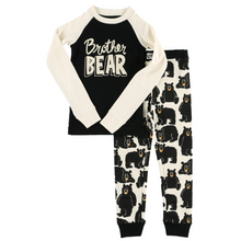Load image into Gallery viewer, Brother Bear Kid's Long Sleeve PJs