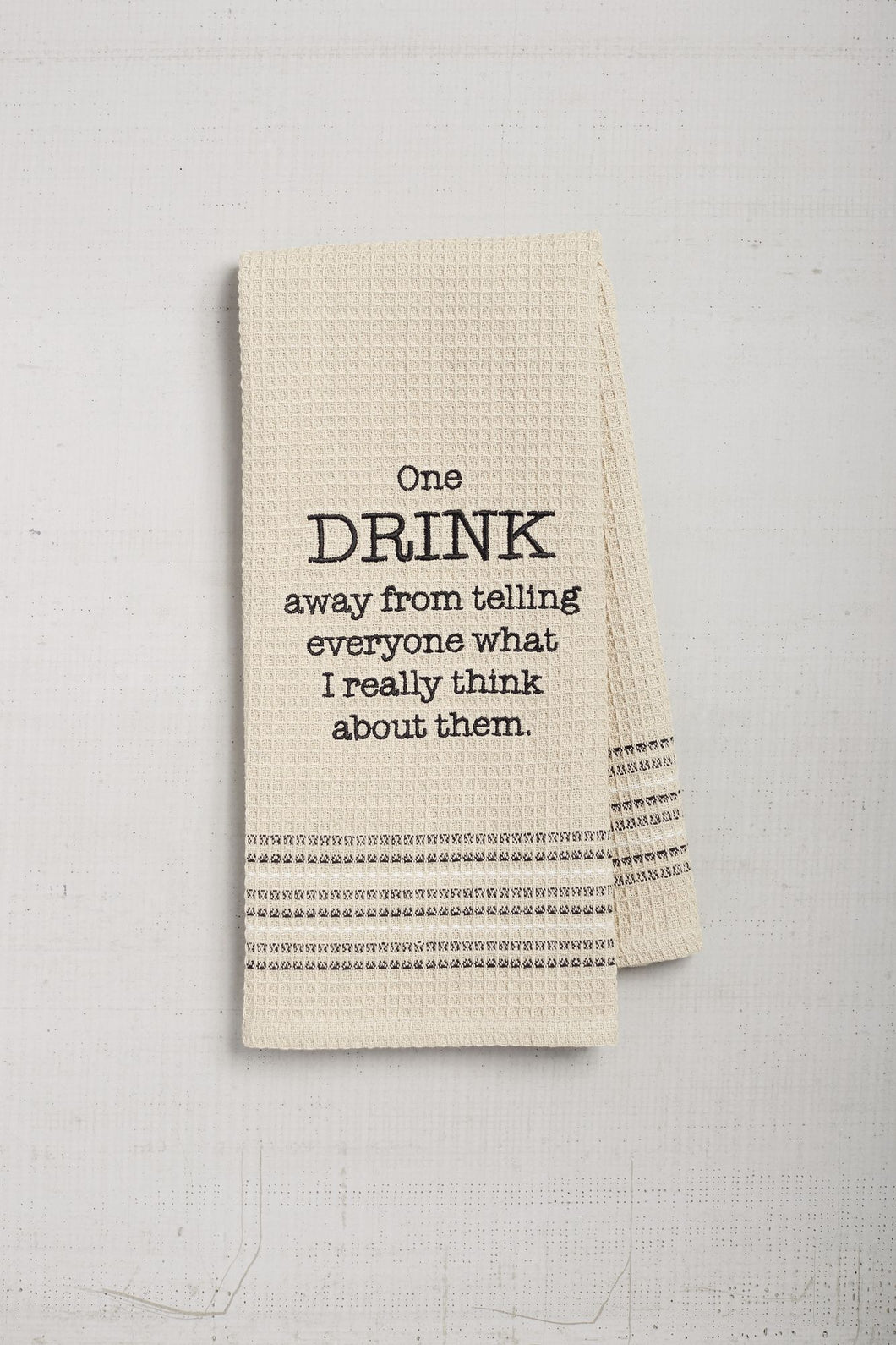 Really Think Dishtowel