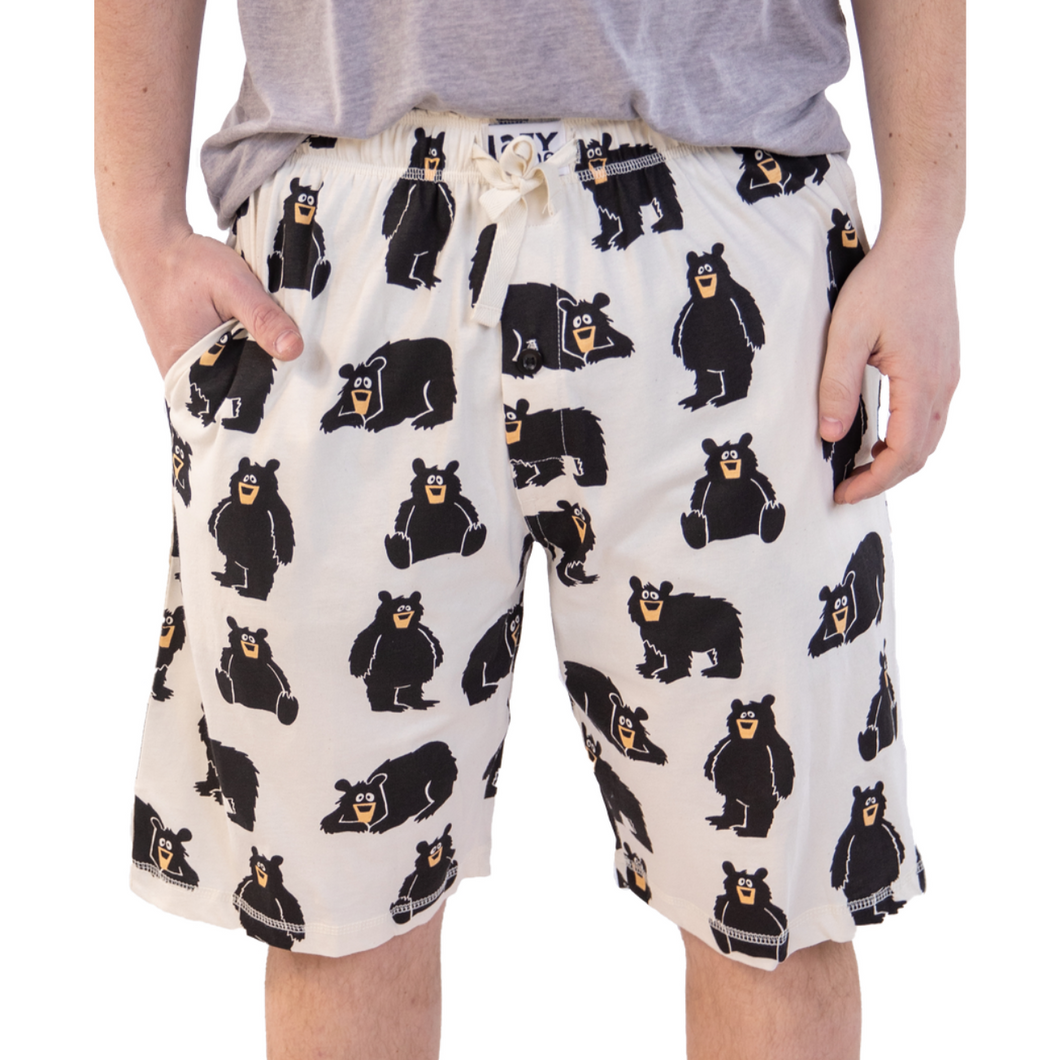 Family Bear Men's PJ Shorts