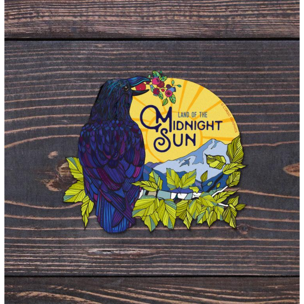 Midnight Sun Sticker