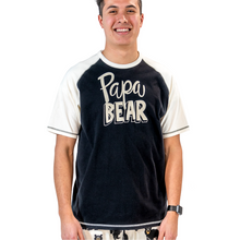 Load image into Gallery viewer, Papa Bear Men's PJ Tee