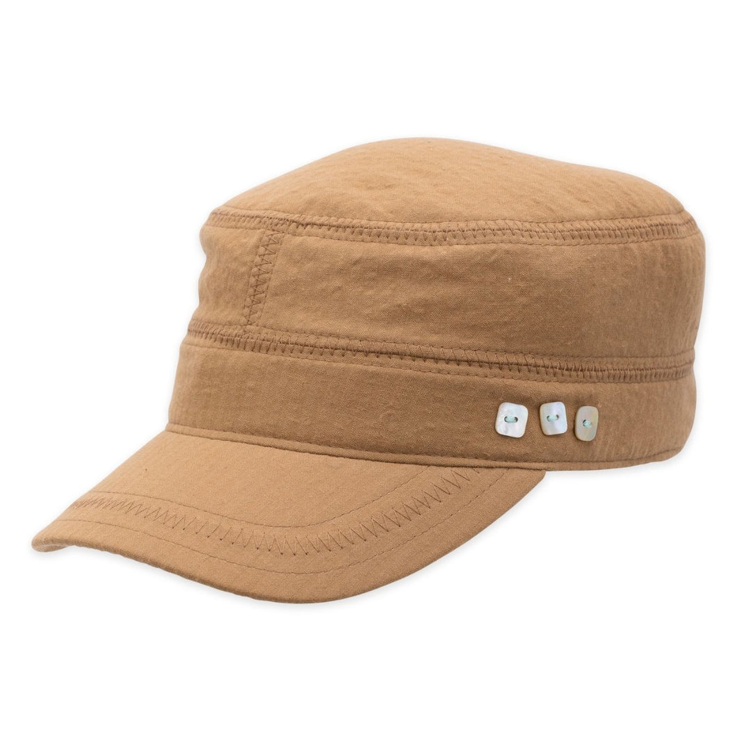 Ronnie Military Hat - Khaki