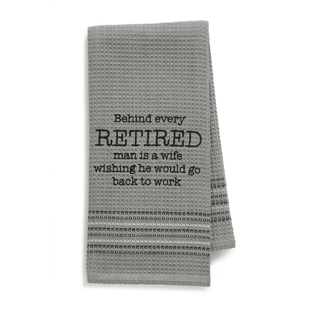Retired Dishtowel