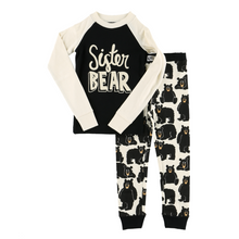 Load image into Gallery viewer, Sister Bear Kid's Long Sleeve PJs