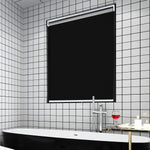 Blackout Window Shades, Cordless Free-Stop UV Protection Water Proof for Home & Office Black, 34x72