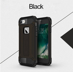 Applicable to the iPhone 6Plus 6SPlus double-layer carbon fiber soft TPU phone shell