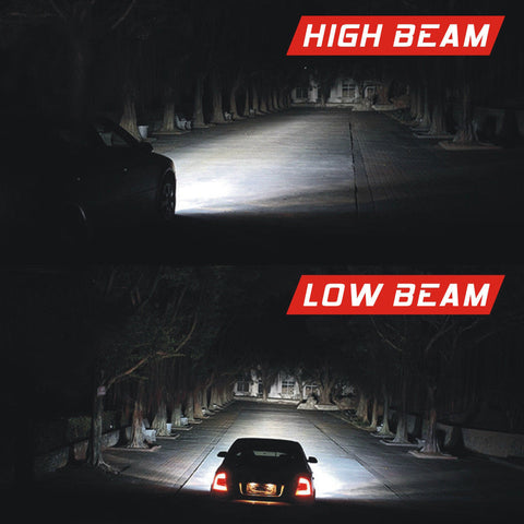 LED Headlight Kit H8 H9 H11 1855W 278250LM 6000K Low Beam Fog Lights Bulbs
