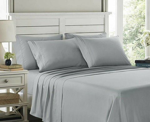 1800 Series Egyptian Bed Sheet Set - 14
