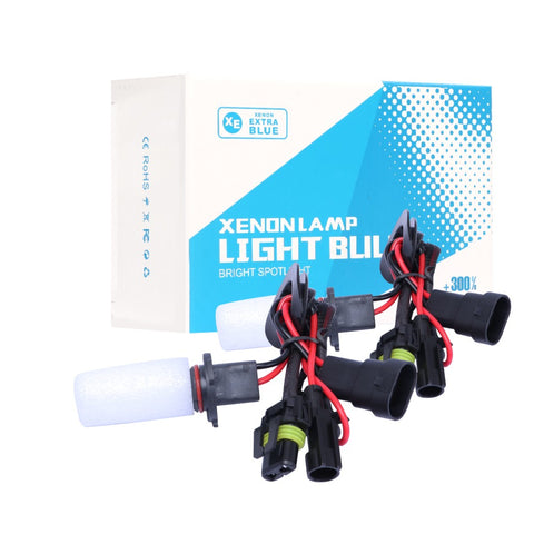 1 Pair 55W HB3 9005 Xenon HID DC Headlight Bulbs High Beam White 6000K Lamp US