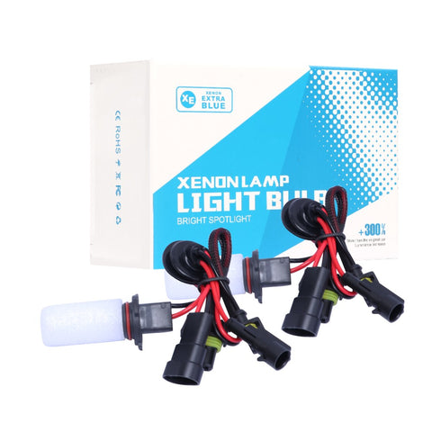 55W 9006 HB4 HID XENON Headlight Bulbs Low Beam Conversion Kit 6000K White DC