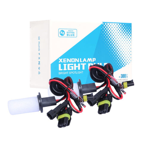 2Pcs H7 HID Xenon Headlight Kit Replacement Bulb 6000K White 40000LM 50W