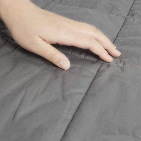 60*80in/20lb Weighted Heavy Blanket Adult 20 lbs Gravity Throws Faster Fall Asleep Better