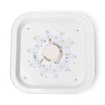 9105 Small Square 12W White Light