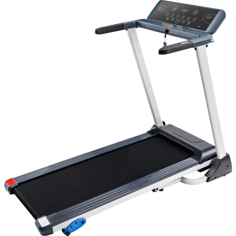 Folding Treadmill Electric Motorized Running Machine with Bluetooth, Speakers and 3 Incline Options