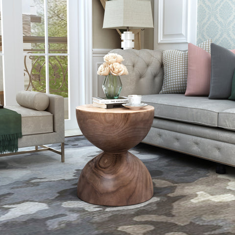 U_STYLE Hourglass-shaped End Table