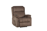 Oris Fur. Power Lift Chair Soft Fabric Upholstery Recliner Living Room Sofa Chair with Remote