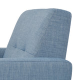 Modern Upholstered Fabric Accent Arm Lounge Chair for Living Room