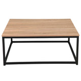 COFFEE TABLE(OAK)+DINING TABLE(square ) +for kitchen, restaurant, bedroom, living room and many other occasions