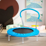 36 INCH TRAMPOLINE WITH HANDLE (Blue)