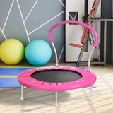 36 INCH TRAMPOLINE WITH HANDLE (Pink)
