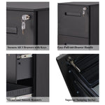 File Cabinet/Office lock design/Fully Assembled Except Wheels