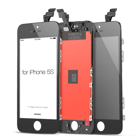 iPhone 5S/SE Screen Replacement (Aftermarket) (Black)