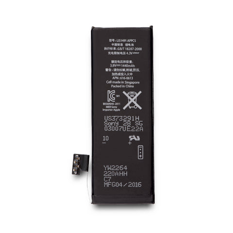 Battery replacement for iPhone 5