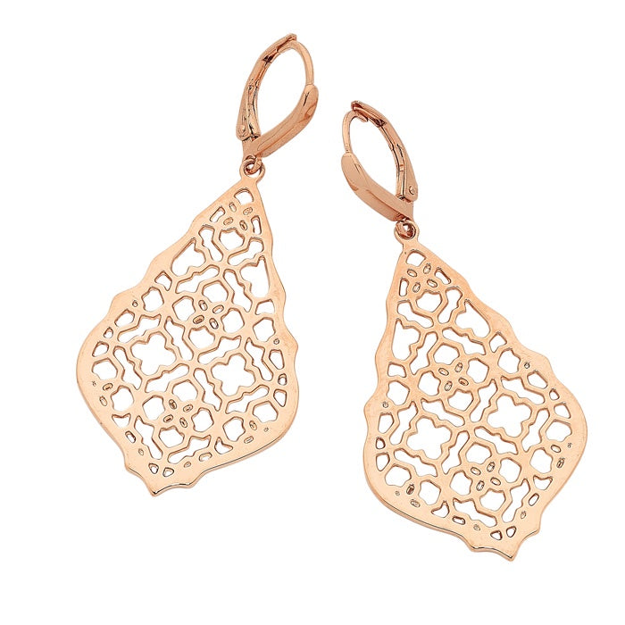 Catalina Rose Gold Earrings