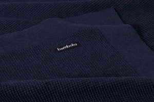 Bemboka Small Box Cotton Throw - Ink