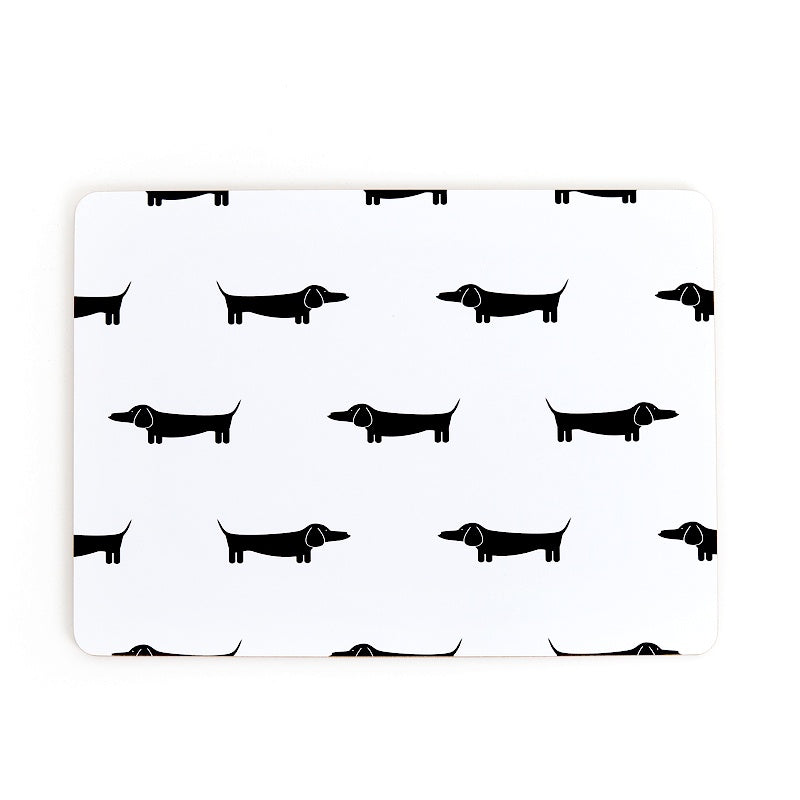 Placemats - Dapper Dachshund set of 4