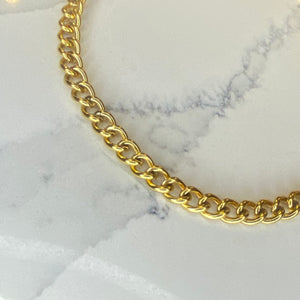 Chunky 18k gold chain
