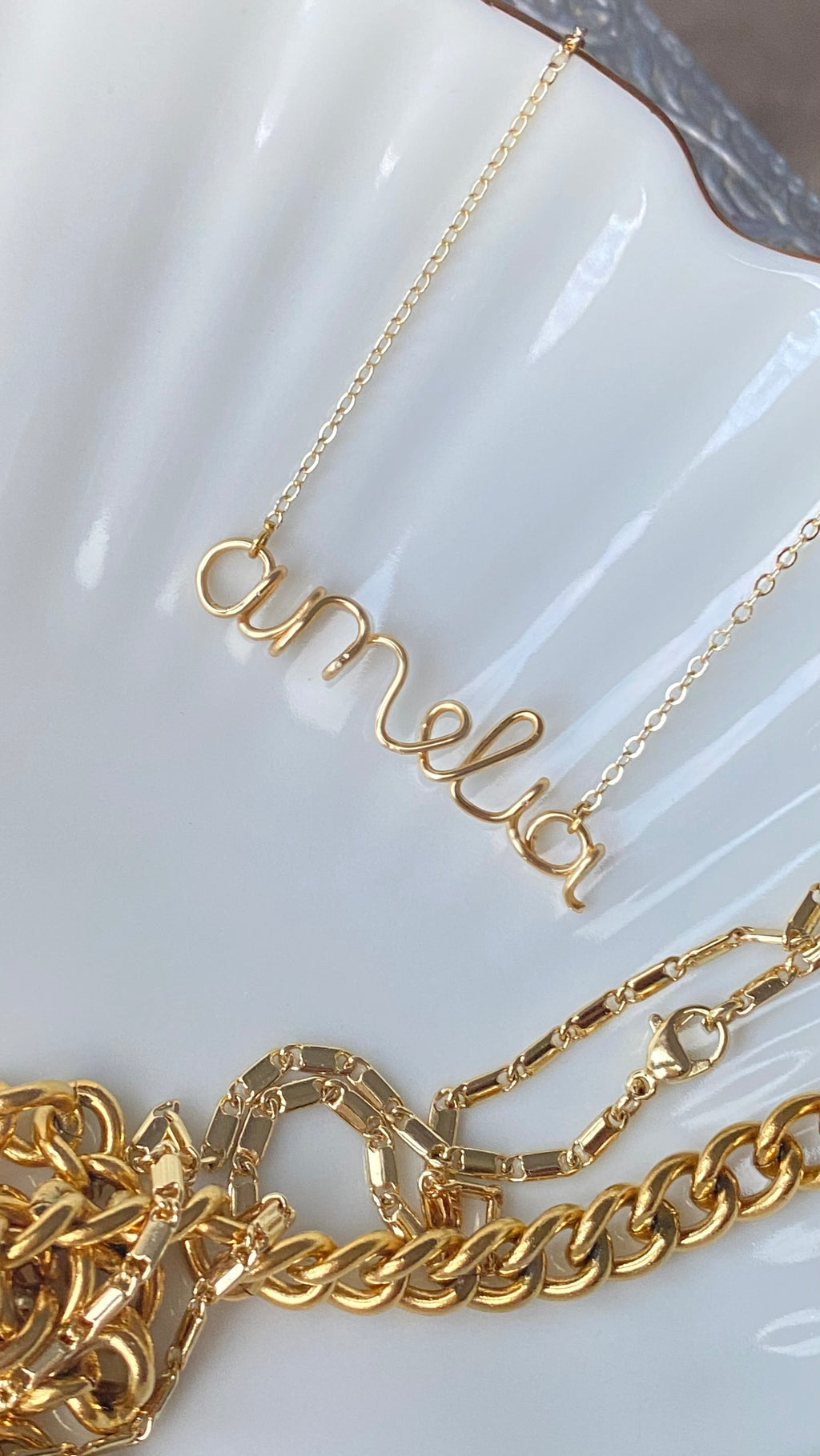 Personalised handmade necklaces