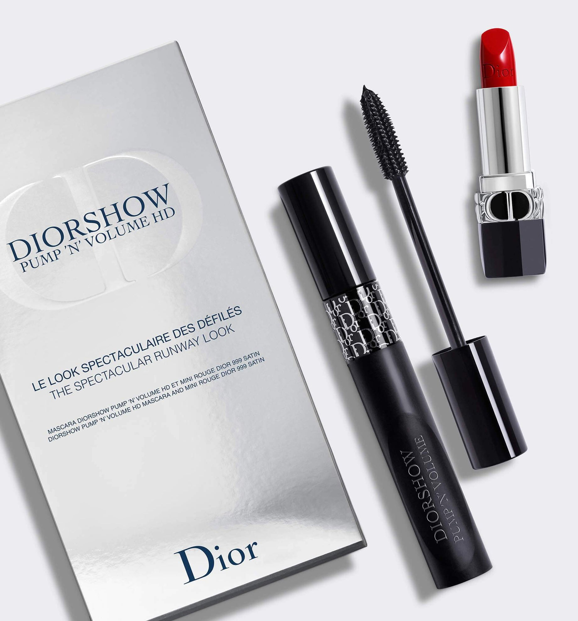Diorshow Pump 'N' Volume HDMascara and Lipstick Set