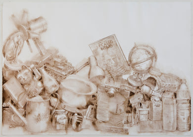 Jairo Alfonso 45  Watercolor, pencil on paper   27.6 x 39.4