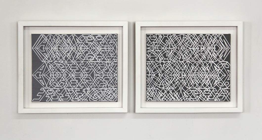 Danay Vigoa -  I am a reflection (Diptych)