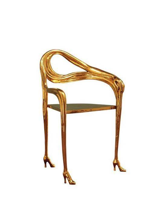 Leda Armchair by Salvador Dali - The Odd Piece