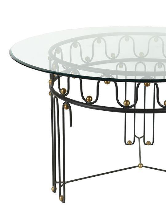 Jean Royere Style Vintage Dining Table - The Odd Piece