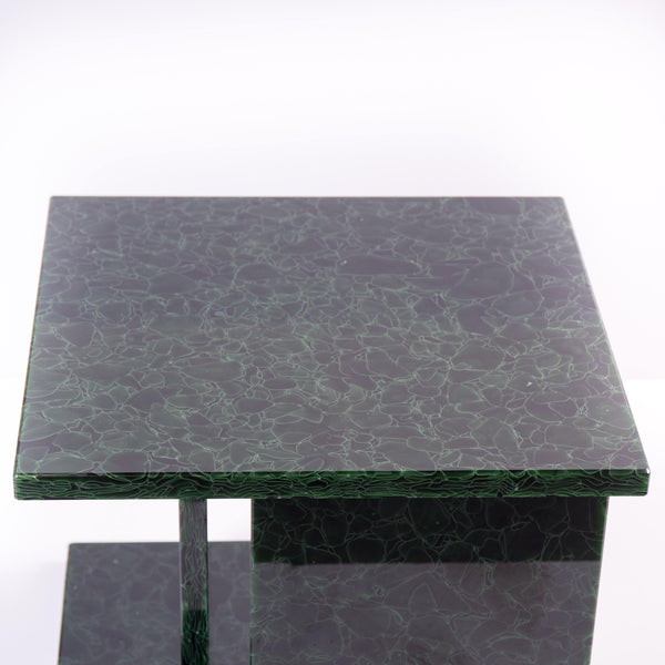 Side Table- Font glass table
